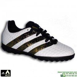 Adidas ACE 16.4 NIÑOS blanco Zapatilla Microtaco TURF S31983 bota futbol James Kroos Koke Rakitic