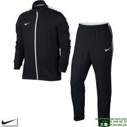 Chandal NIKE ACADEMY Woven Tracksuit Dri Fit Hombre Negro Poliester Microfibra 844329-010