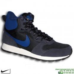 Bota Nike MD RUNNER 2 MID PREMIUM Azul Marino 844864-440 sneakers