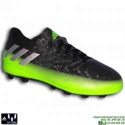Adidas MESSI 16.4 NIÑOS Gris-Verde Bota Futbol tacos FxG AQ3525 JUNIOR Hierba artifical personalizar