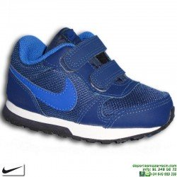 Zapatilla Nike MD RUNNER 2 Infantil Niño TDV cierre Velcro Deportiva clasica 806255-405 personalizable