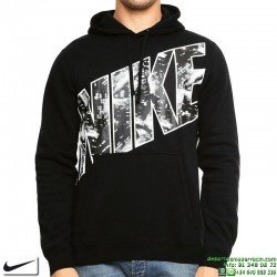 Sudadera NIKE Fleece-City Lights Po Hdy Negro 806664-010 Hombre
