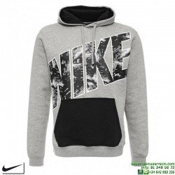 Sudadera NIKE Fleece-City Lights Po Hdy Gris 806664-063 Hombre