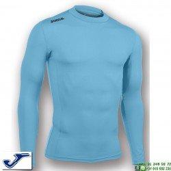Camiseta Termica JOMA BRAMA ACADEMY Azul Turquesa 100449.010 manga larga