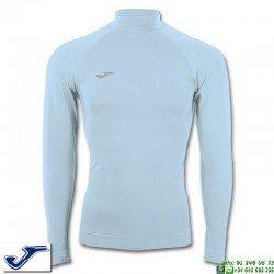 Camiseta Termica JOMA BRAMA CLASSIC New Cuello Azul Celeste 3477.55.350S manga larga