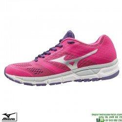 Zapatilla Running Mujer Mizuno SYNCRO MX Rosa J1GF161904 deportiva Correr personalizar
