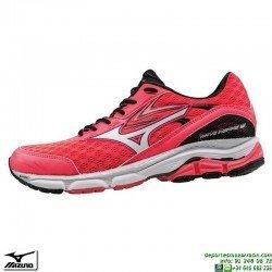 Zapatilla Running Mujer Mizuno WAVE INSPIRE 12 Pronacion Rosa J1GD164401 deportiva Correr personalizar