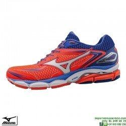 Zapatilla Running Mujer Mizuno WAVE LEGEND 4 Coral J1GD161003 woman deportiva Correr personalizar