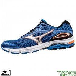 Zapatilla Running Mujer Mizuno WAVE LEGEND 4 Azul J1GC161003 hombre deportiva Correr personalizar