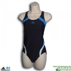 Bañador Natación Mujer Adidas I CREW 1PC Azul Marino P44103 infinitex