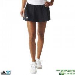 Falda Adidas CLUB SKORT Negro Tenis Padel AJ3224 mujer