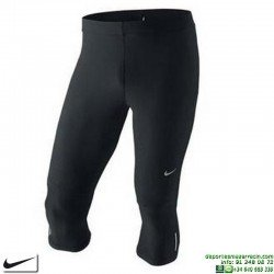 Malla Pirata Nike ATHLETIC CAPRI Running Negro 404613-011 atletismo
