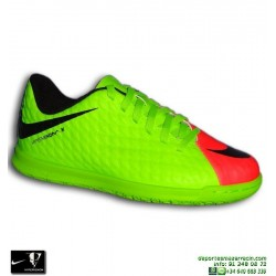 Nike HYPERVENOM Niño Zapatilla Futbol Sala verde-Rosa phade 852583-308 bota junior personalizable