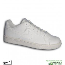Zapatilla Clasica Nike COURT ROYALE SE Chica Piel Blanca 833535-102 mujer sneakers