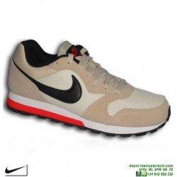 Zapatilla Nike MD RUNNER 2 Beige-Crema Deportiva clasica 749794-200 sneakers personalizable