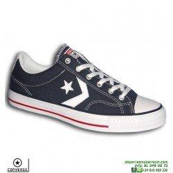 Sneaker CONVERSE STAR PLAYER OX Azul Marino Hombre deportiva lona