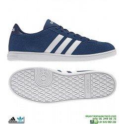 Zapatilla Clasica ADIDAS VLCOURT NEO Piel Suede Azul Marino B74457 sneakers personalizar
