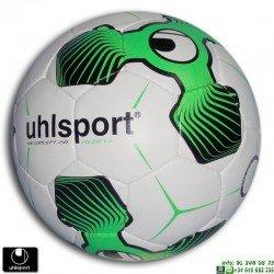 Balon Futbol UHLSPORT TRI CONCEPT 2.0 REBELL 100158801 Blanco-Verde hierba artificial