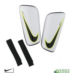 Espinillera Nike HARD SHELL SLIP-IN futbol  Blanca SP2101-100 proteccion