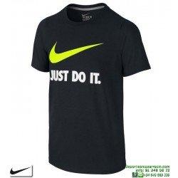 Camiseta Nike Junior JDI SWOOSH TEE YTH Negro