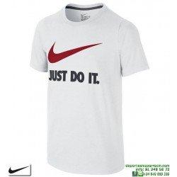 Camiseta Nike Junior JDI SWOOSH TEE YTH Blanco