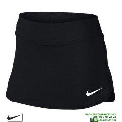 Falda Nike YA PURE SKIRT GIRLS YTH Negro Tenis / Padel