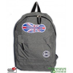 Mochila John Smith Gris Vigore M17119 escolar