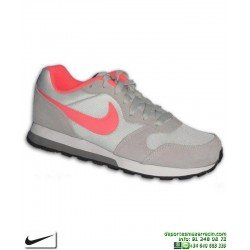 Zapatilla Nike MD RUNNER Chica Beige-Coral 807319-007 Sneakers