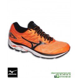 Deportiva Running Mizuno WAVE RIDER 20 Naranja J1GC170313 hombre personalizable