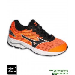 Deportiva Running Mizuno WAVE RIDER 20 Junior Chicas Naranja K1GC172509 personalizable
