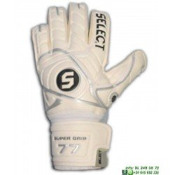 Guante Portero Proteccion Dedos SELECT 77 SUPERGRIP Blanco palma latex personalizable