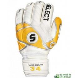 Guante Portero Proteccion Dedos SELECT 34 ALLROUND Blanco palma latex personalizable