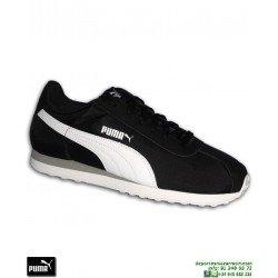 Deportiva Clasica PUMA TURIN NL Negro-Blanco Hombre sneakers