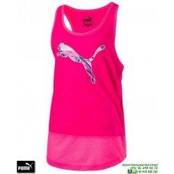 Camiseta Tirantes Chica PUMA Softsport Layer Tank Rosa 590826-35