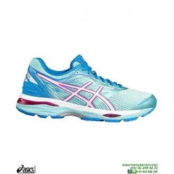 ASICS GEL CUMULUS 18 Mujer Celeste Deportiva Running T6C8N-6701 Neutra