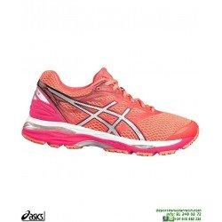 ASICS GEL CUMULUS 18 Mujer Naranja Deportiva Running T6C8N-2093 Neutra