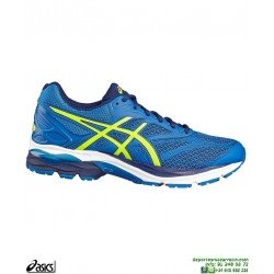 ASICS GEL PULSE 8 Azul Deportiva Running Hombre T6E1N-4907 Neutra zapatilla correr