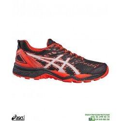 ASICS GEL-FUJITRABUCO 5 Deportiva Running Cross Campo T6J0N-9023 Negra zapatilla hombre