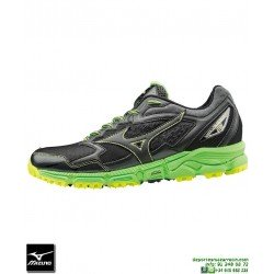 Mizuno WAVE DAICHI 2 Negro Deportiva Cross Campo J1GC177109 zapatilla TRAIL