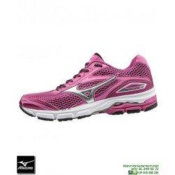 Mizuno WAVE LEGEND 4 Mujer Deportiva Running Neutra Rosa J1GD161004