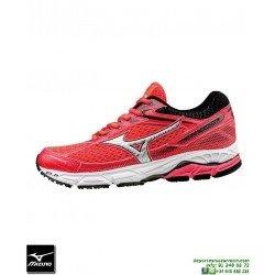 Mizuno WAVE EQUATE Mujer Deportiva Running Pronacion Rosa J1GD174805