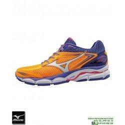 Mizuno WAVE ULTIMA 8 Deportiva Running Naranja J1GD160915 hombre