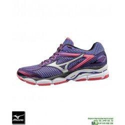 Mizuno WAVE ULTIMA 8 Mujer Deportiva Running Neutra Morado J1GD160908