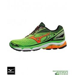 Mizuno WAVE INSPIRE 13 Verde Deportiva Running Pronacion J1GC174454 hombre zapatilla Correr personalizar