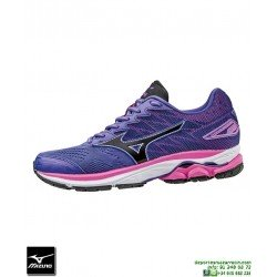 Mizuno WAVE RIDER 20 Mujer Deportiva Running morado J1GD170309