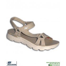 Sandalia SKECHERS ON THE GO Mujer Radiance chancla 14675/NAT