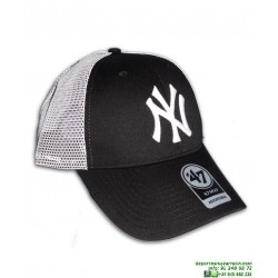 Gorra NEW YORK YANKEES Rejilla Negro-Blanco