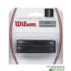 Grip Wilson Cushion-Aire Classic Contour Puño Tenis negro WRZ4203BK