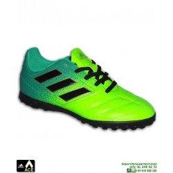 Adidas ACE 17.4 NIÑOS Verde Zapatilla futbol Microtaco TURF BB1064