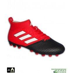 Adidas ACE 17.3 PRIMEMESH AG Roja Bota Futbol Tacos Artificial BB1139